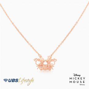KALUNG EMAS DISNEY MICKEY & MINNIE MOUSE 17K