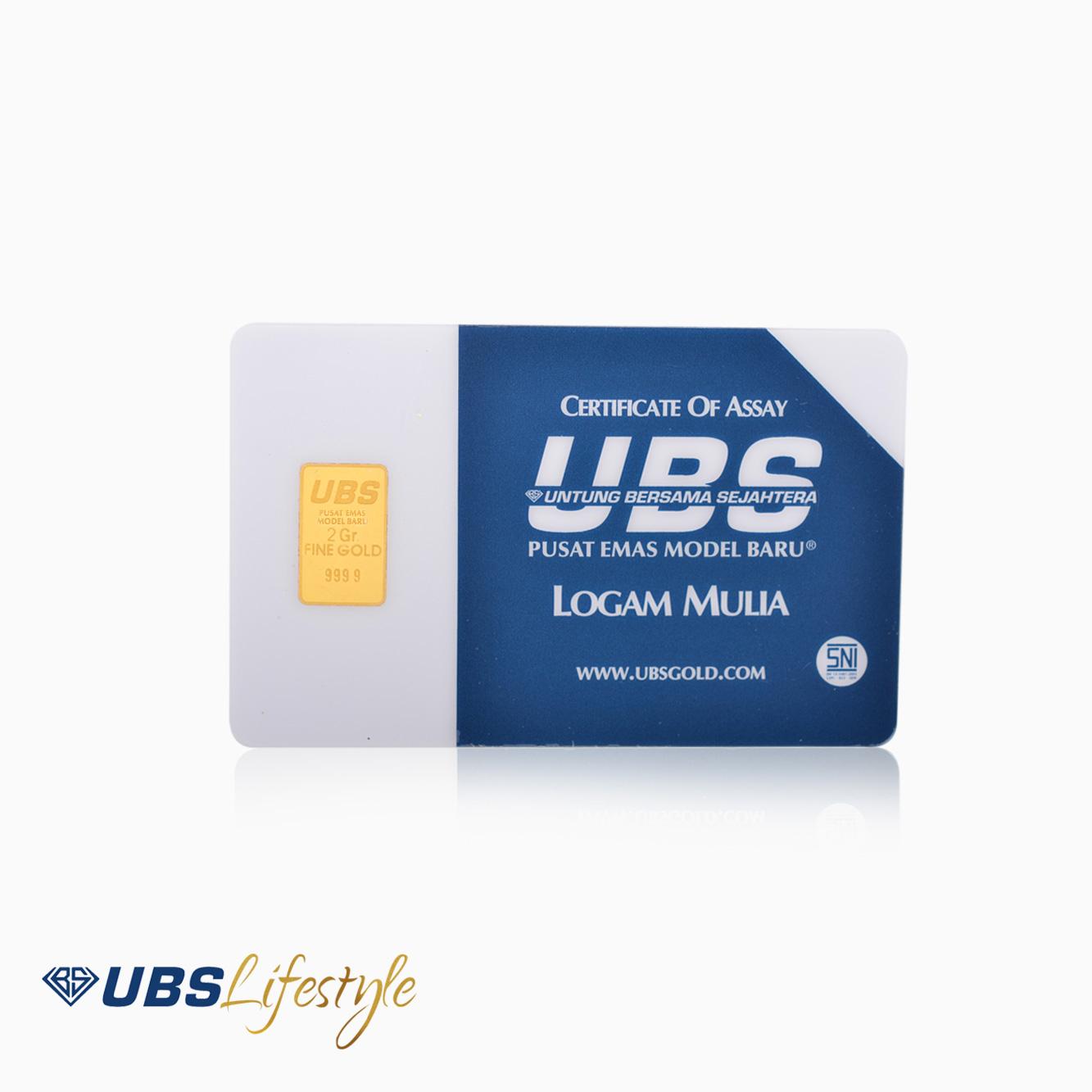 LOGAM MULIA UBS 2GRAM