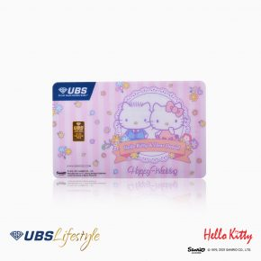 LOGAM MULIA UBS SANRIO HELLO KITTY HAPPY WEDDING EDITION 0.5 GR