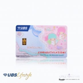 LOGAM MULIA UBS SANRIO LITTLE TWIN STARS EDITION 0.5 GR