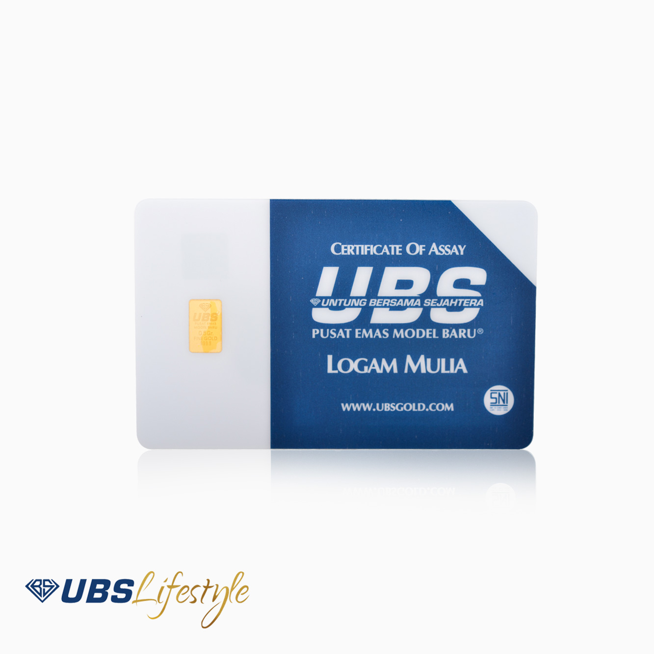 LOGAM MULIA UBS 0.5GRAM