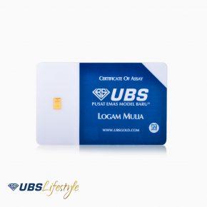 LOGAM MULIA UBS 0.1 GRAM