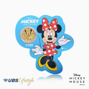 ANGPAO EMAS DISNEY MINNIE MOUSE 0.1 GR