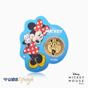 ANGPAO EMAS DISNEY MINNIE MOUSE 0.2 GR