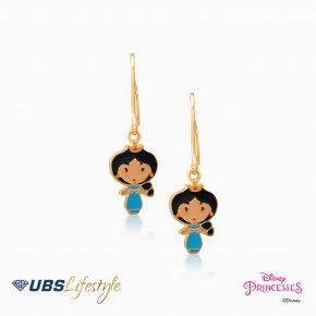 UBS Anting Emas Anak Disney Princess Jasmine - Aay0007 - 17K
