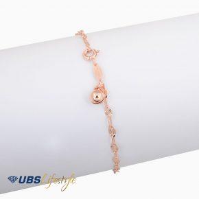 GELANG EMAS UBS BELL 17K