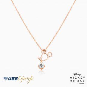 UBS Kalung Emas Disney Mickey Mouse - Kky0257 - 17K