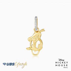 Liontin Emas Disney Donald Duck - Cly0012 - 17K
