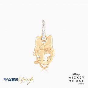 UBS Liontin Emas Disney Daisy Duck - Cly0013 - 17K