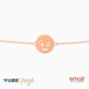UBS Gelang Emas Emoji - Kgv6493 - 17K