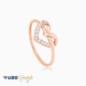 UBS Cincin Emas Millie Molly - Cc15832 - 17K