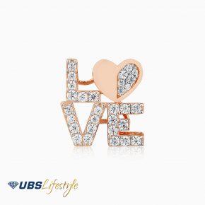 UBS Liontin Emas - Cdm0124 - 17K