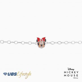 UBS Gelang Emas Anak Disney Minnie Mouse - Kgy0062 - 17K