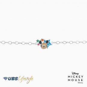 UBS Gelang Emas Anak Disney Mickey Mouse - Kgy0068 - 17K