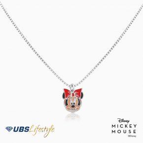 UBS Kalung Emas Anak Disney Minnie Mouse - Kky0234 - 17K